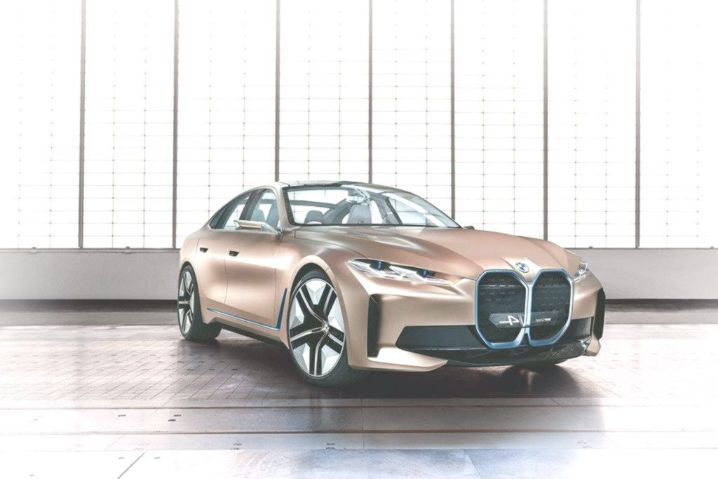 The Bmw I4 Concept Is An Electric Car With 530 Hp And 600 Km Of Autonomy With Which Bwm Will Go For The In 2020 Bmw Electric Car Car
