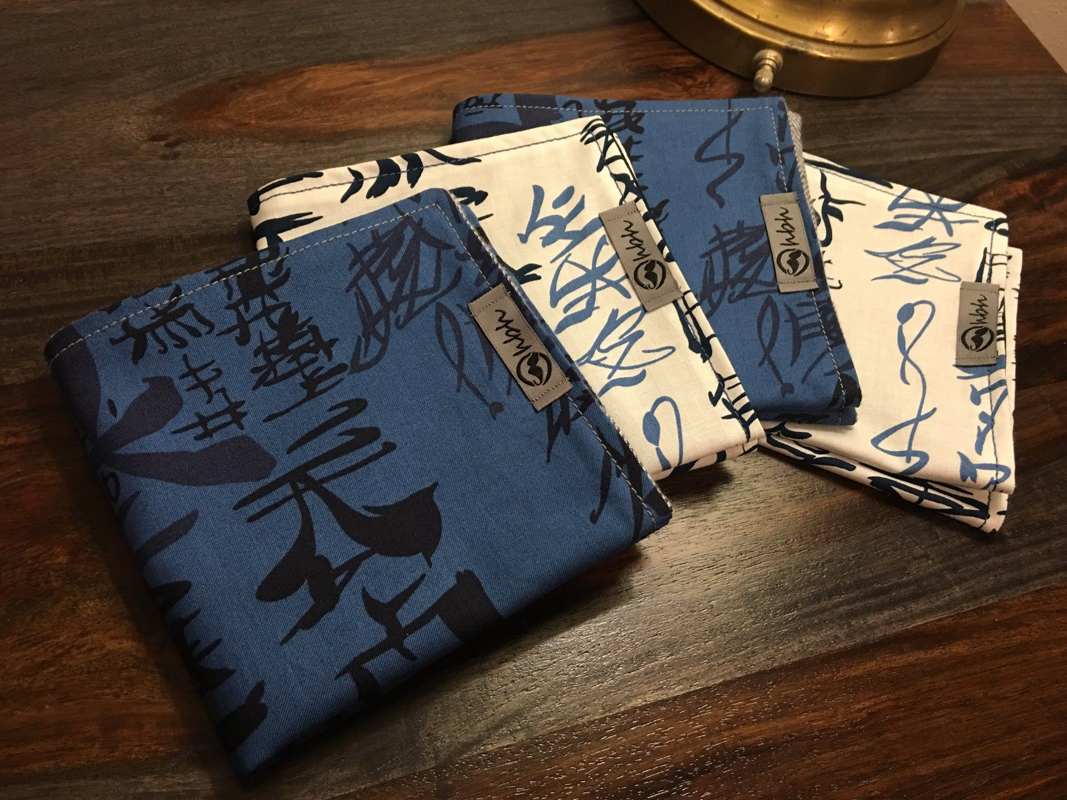 Japanese script Japanese, Handkerchief, Flannel