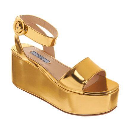 Flatform sandals, Ankle strap