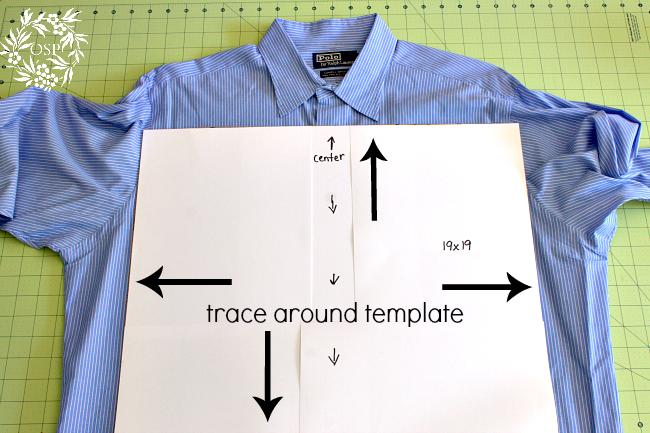 Cojines con camisas recicladas yo elijo Coser | Como hacer