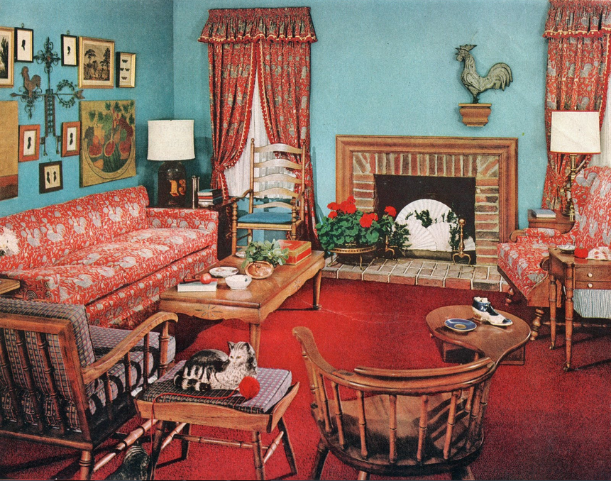 1940s room decor home decor pinterest 1940s room for Classic american decorating style