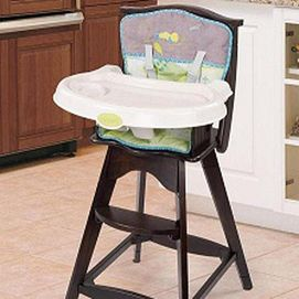 Sears Carter S Classic Comfort Reclining Wood Highchair