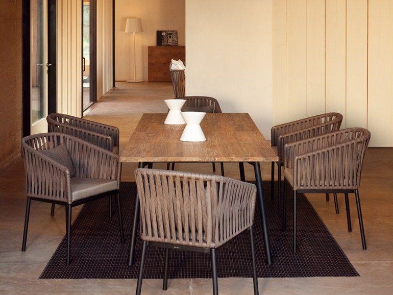 Chaises De Jardin · Polyester Garden Chair Bitta Collection By KETTAL  Chaise Longue, Terrasse Aménagement Paysager, Meubles En