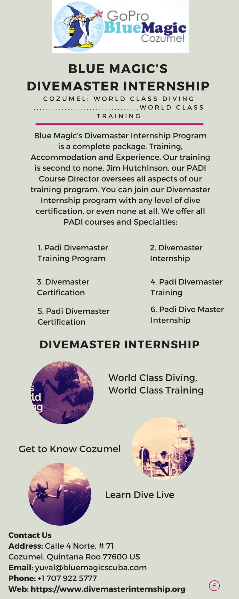 Blue Magics Divemaster Internship Program Is A Complete Package