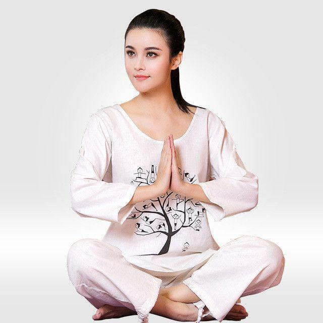 Meditation Zen Buddhist Suit Exercise Yoga Clothes