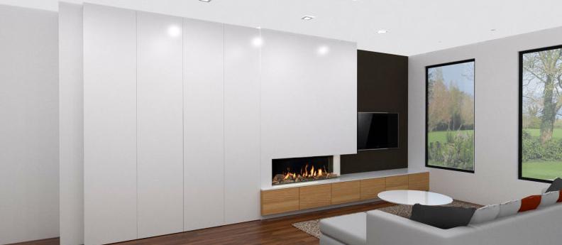 3d ontwerp sierschouwen en tv wanden moderne interieurs pinterest wand. Black Bedroom Furniture Sets. Home Design Ideas