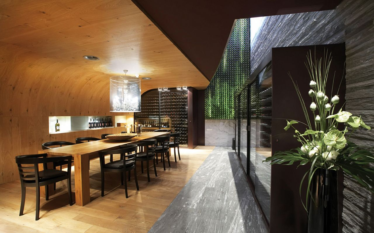 Innenarchitektur Oder Architektur ristorante seven ascona bert haller innenarchitekten