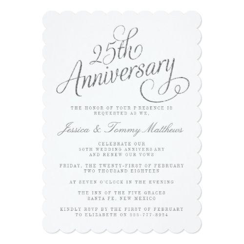 25th wedding anniversary invitations 25th silver wedding 25th wedding anniversary invitations 25th silver wedding anniversary invitations stopboris Images