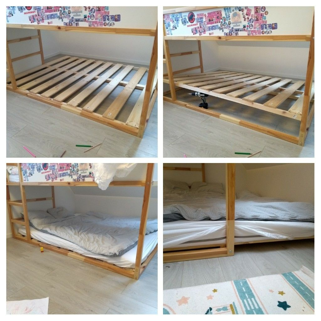 Ikea Kura Hack Double Bed With Air Circulation And Removable Frame