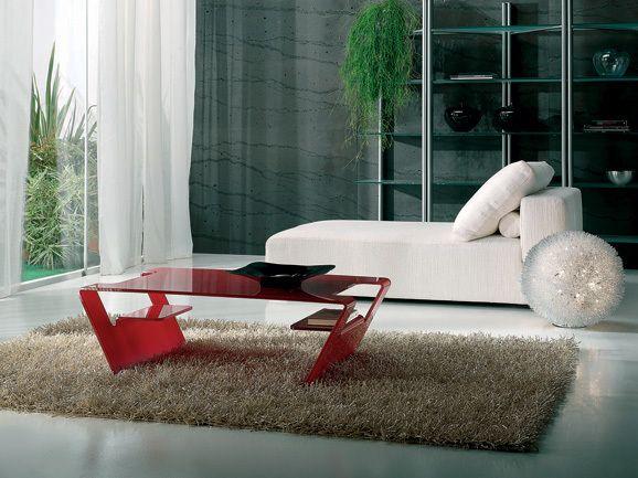 Tavolino Salotto Rosso.Tavolino Da Salotto Lunghezza 110 Profondita 65 E Altezza