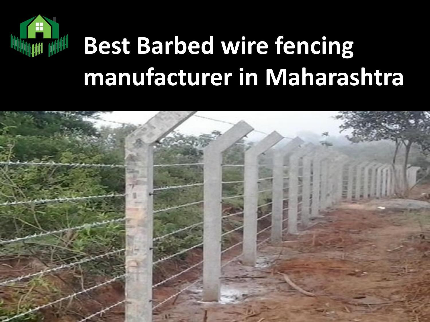 Best barbed wire fencing manufacturer in maharashtra   Barbed wire ...