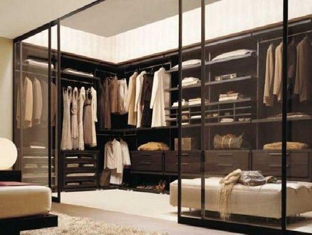 Closet Organizer With Corner Shelves