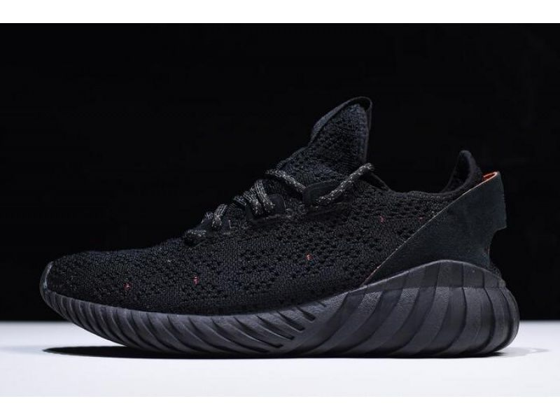 Adidas Tubular Doom Sock Primeknit Triple Black By3559