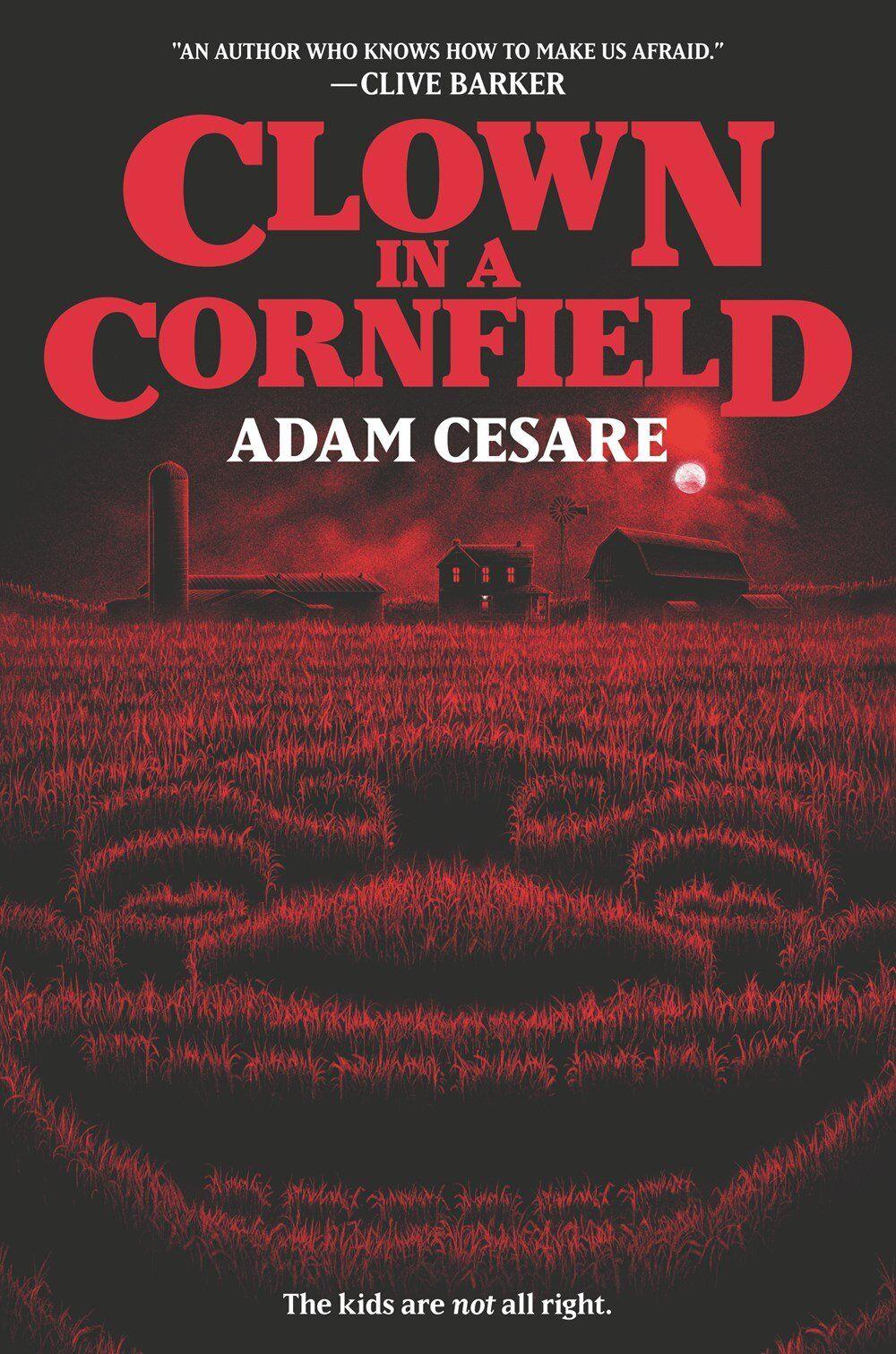 Clown in a cornfield by adam cesare in 2020 books young