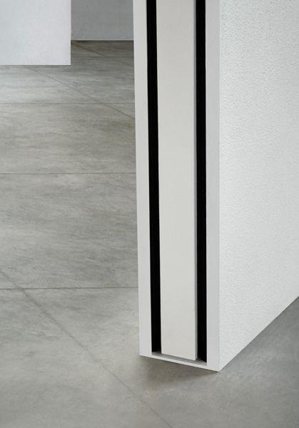 Puerta corredera empotrada puerta corredera interior pared - Puertas correderas de cristal empotradas ...