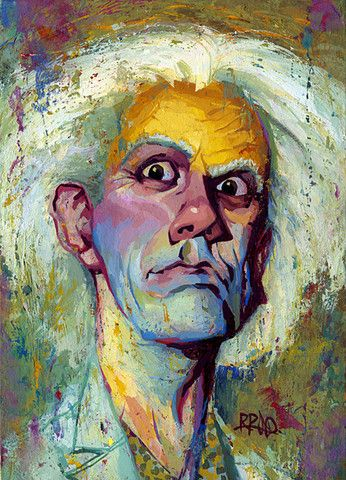 "Rich Pellegrino ""Doc Brown"" Print gallery 1988"