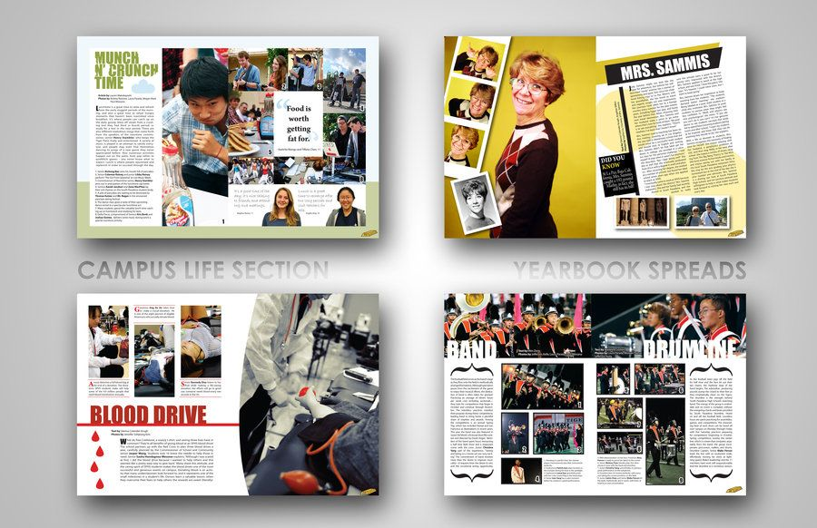 yearbook layouts. by ~efftee on deviantART | North Allegheny Safari ...