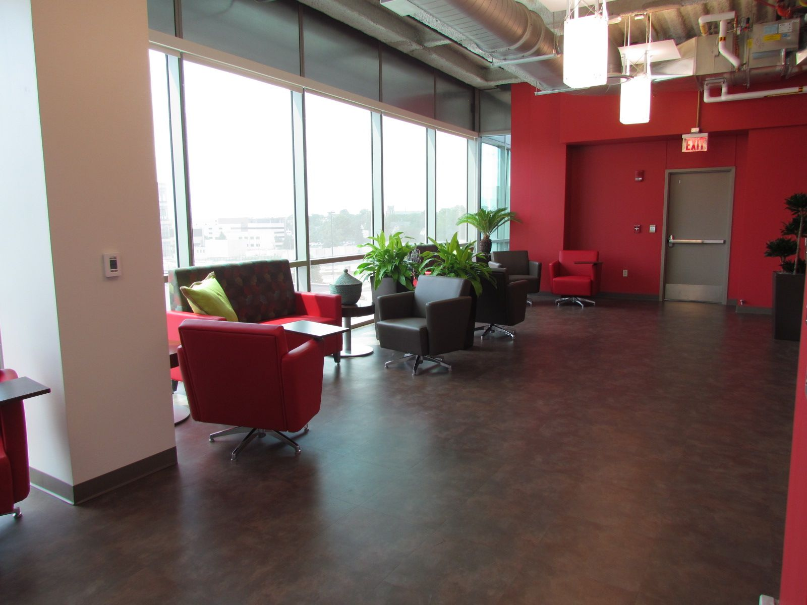 OSF Healthcare (Peoria, IL) Fringe club chairs and lounge