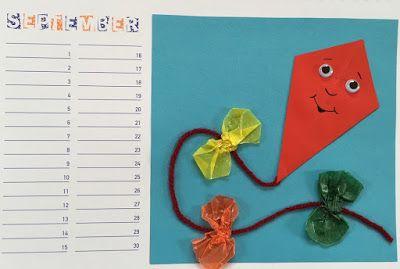 Bastelkalender Ideen.Werken Bastelkalender September Oktober Kalender