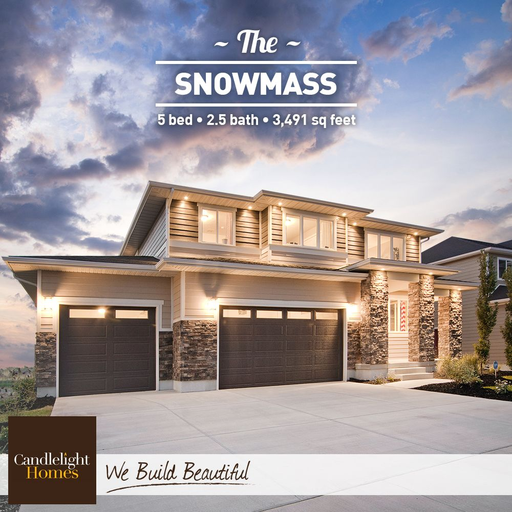 The roofline on this contemporary Snowmass plan