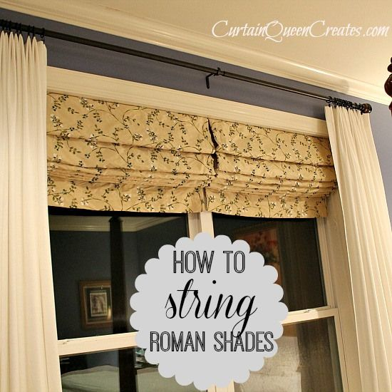 Pin On Roman Shades