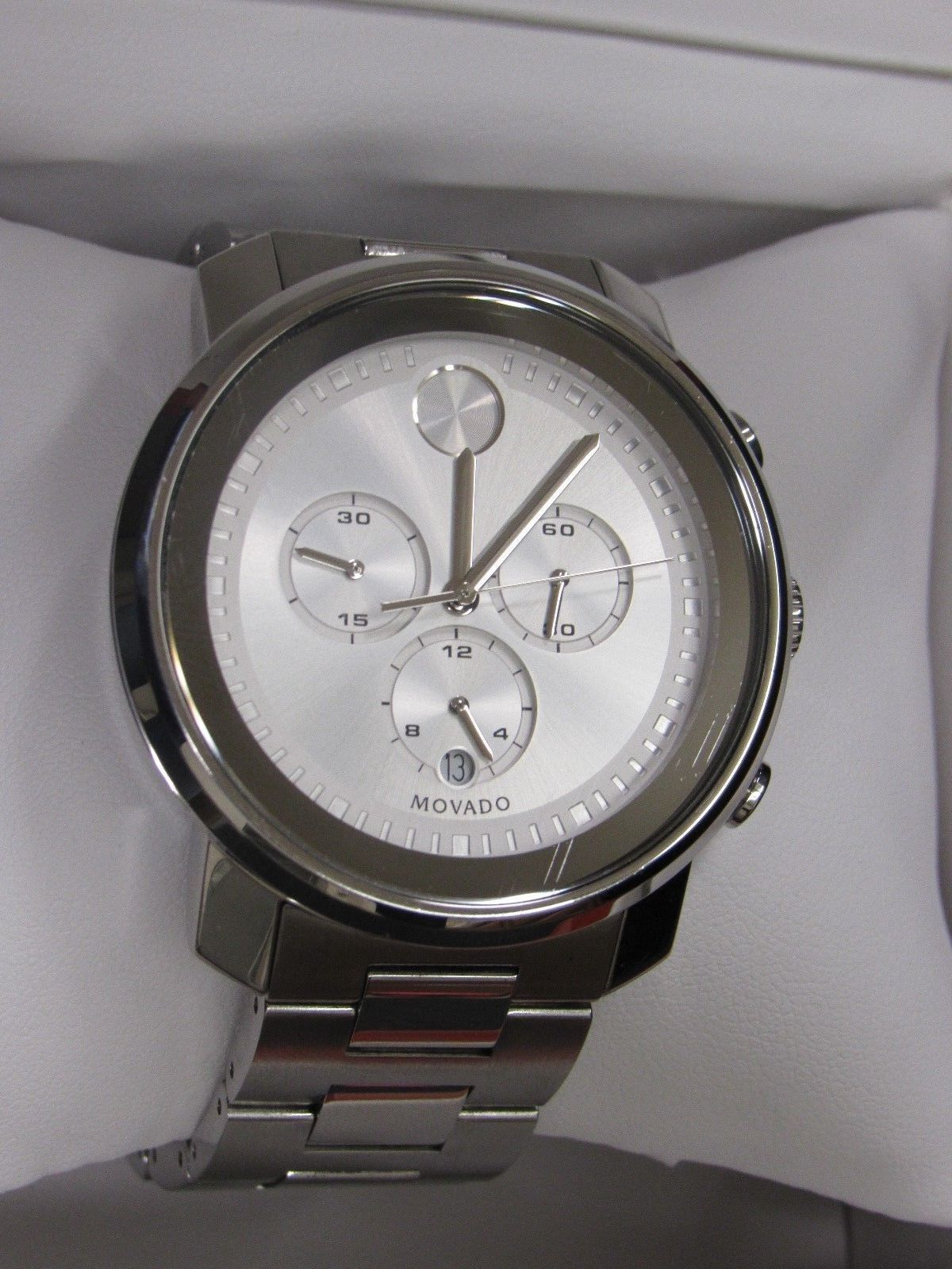 c1b3f62d4 Movado 3600276 Men's Bold Chronograph Stainless Steel Watch | Men ...