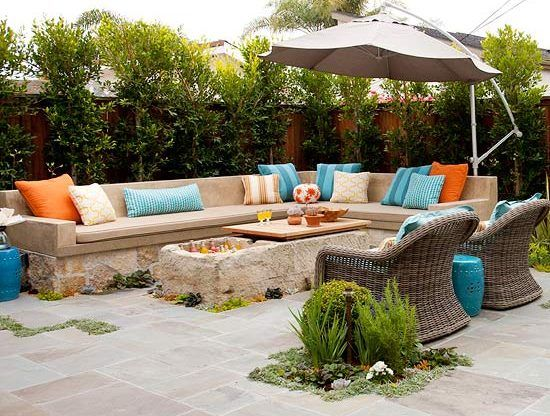 Decoracion exteriores de casas muebles projects to try en 2018 pinterest exteriores de - Decoracion exteriores patios ...