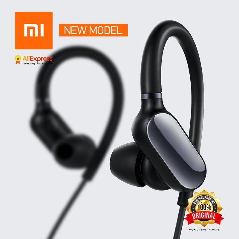 4a14c0d849b Cheap New Original Xiaomi Mi Sports Bluetooth Headset Mini Version Wireless  Earbuds With Microphone Waterproof Bluetooth 4.1 Earphone