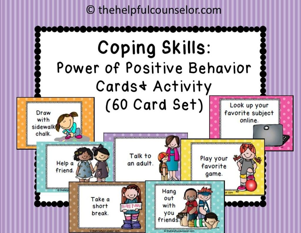 Coping Skills Activities For Kids
