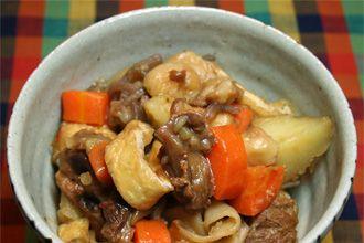 KyotoFoodie-style Nikujaga Wagyu Tendon Beef Stew Recipe