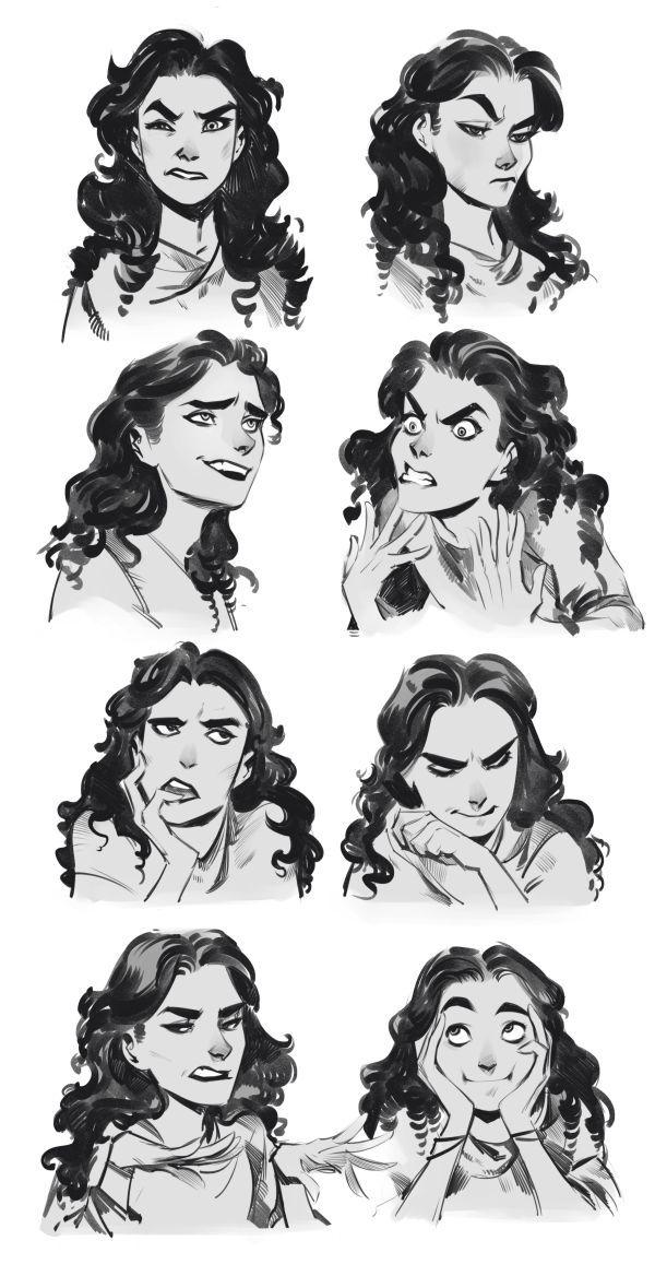 Rodnoj Yurt Dnevniki Asocialnaya Set Character Design Sketches How To Draw Eyebrows Female Face Drawing