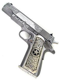 Colt 1911 Texas Rangers