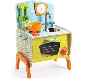 Le déjeuner de Lili Rose Djeco - Dinette | Dinette en bois ...