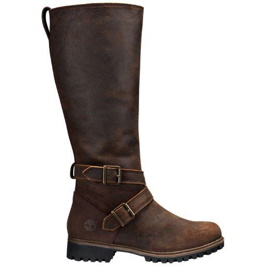Shop Timberland for Wheelwright women's wide-calf tall waterproof boots.