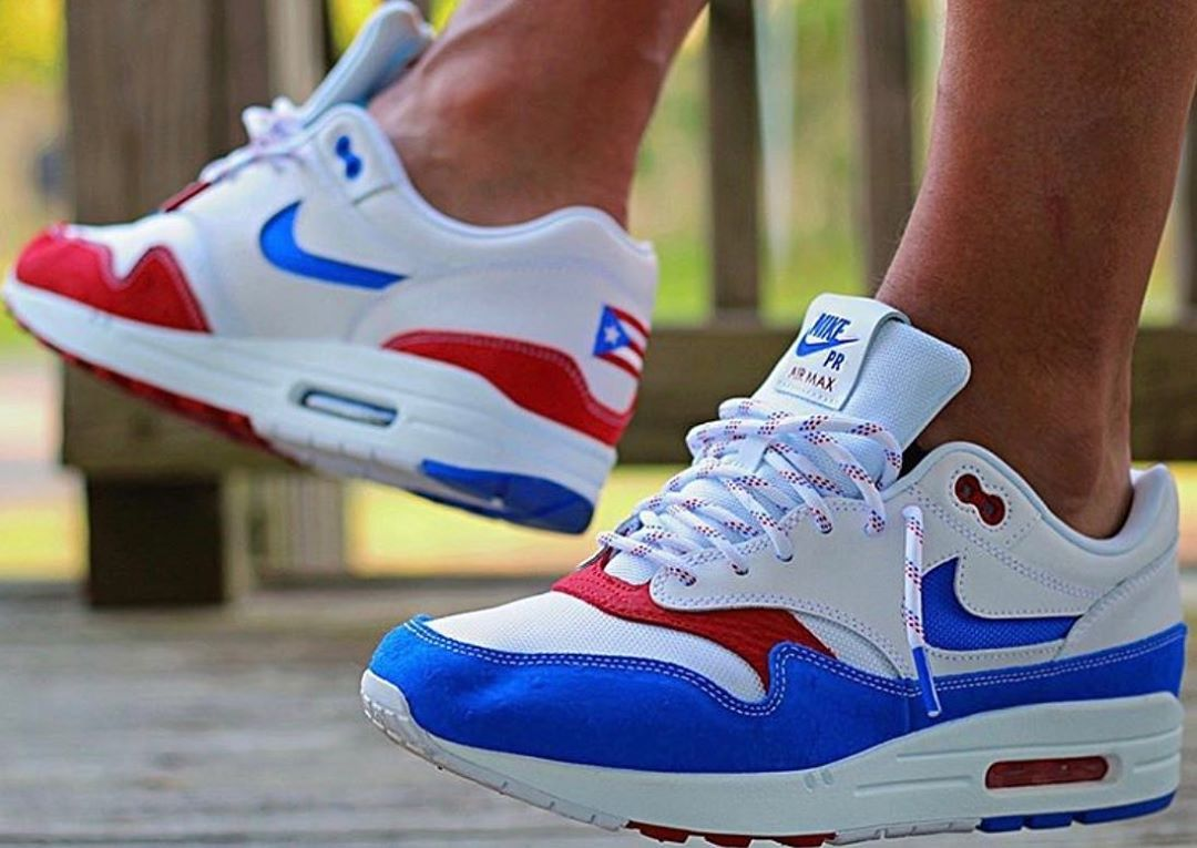 "1⃣9⃣ Nike Air Max 1 PRM ""Puerto Rico"