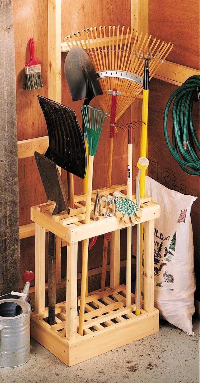 35 идей хранения садового инвентаря которые остановят on new garage organization ideas on a budget a little imagination id=36451