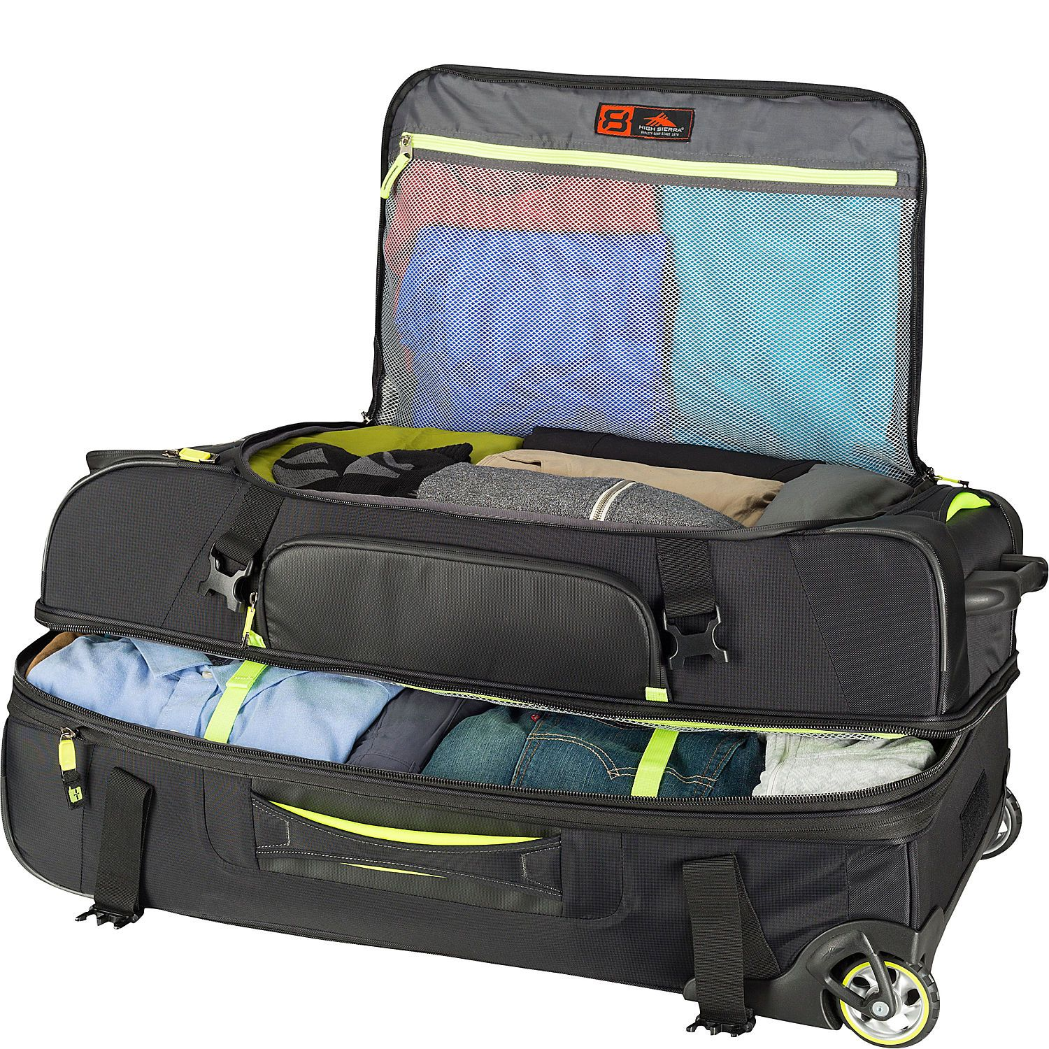 High Sierra At8 32 Wheeled Duffel Upright Ebags