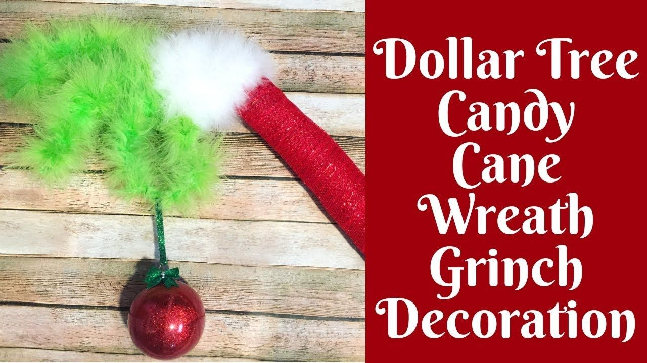 Christmas Crafts The Original Dollar Tree Candy Cane Wreath