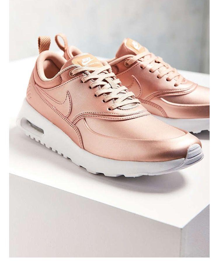 shoes, sneakers, rose, beige, nike shoes, nike sneakers