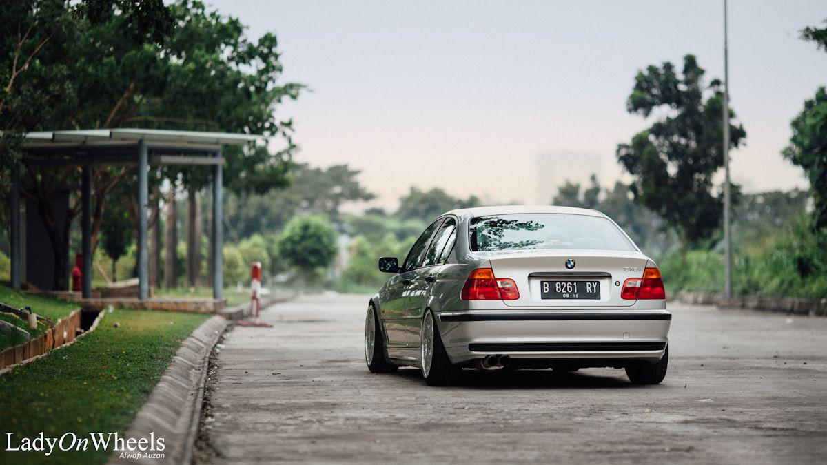 Bmw E46 Oz Opera Silver Stance Ladyonwheels Indonesia 11 Men S