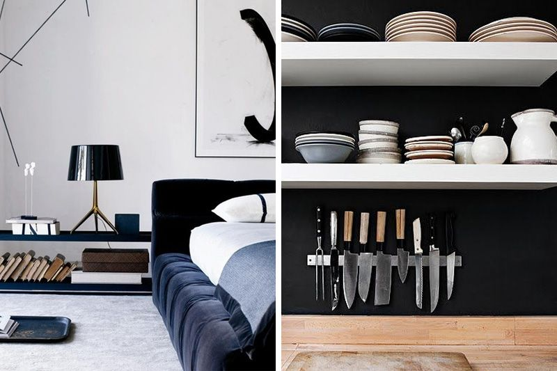 INTERIORS : BACHELOR PAD | The Lacquerie