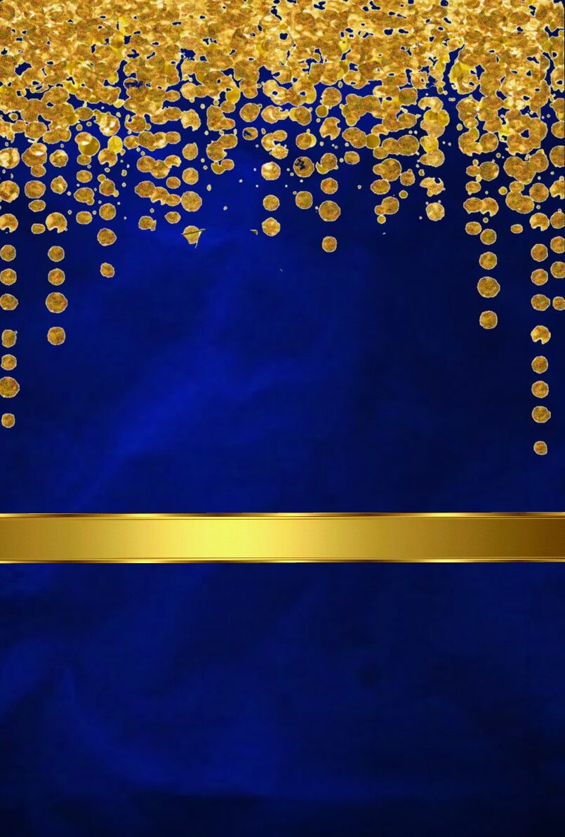 Blue And Gold In 2019 Gold Wallpaper Bling Wallpaper