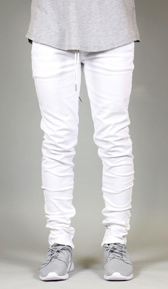 e9ff8ebe White Zipper Pant in 2019 | Classy | Leotard fashion, Mens fashion ...