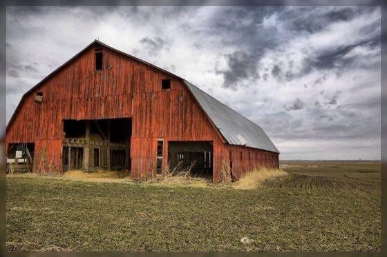 Old barn....