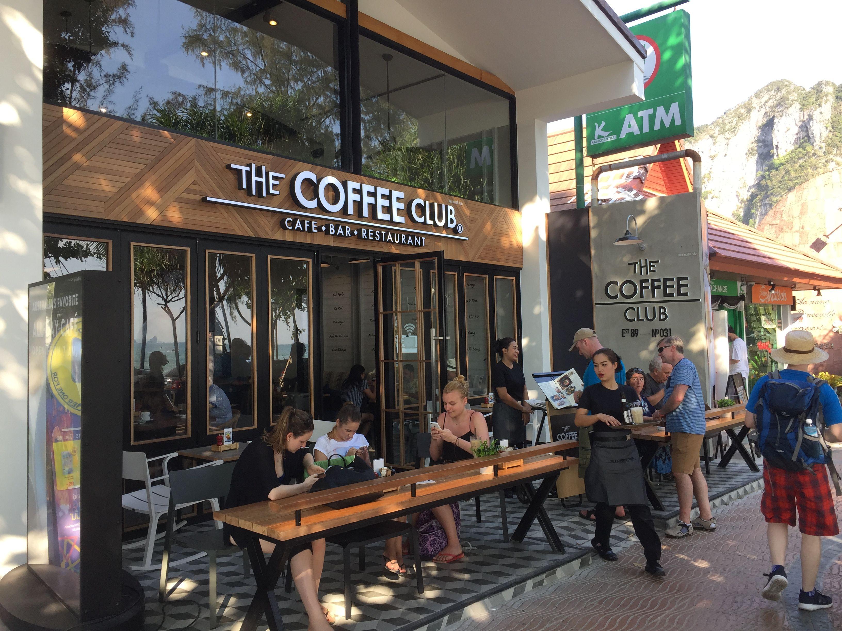 Ao Nang Krabi Thailand Coffee Club Ao Nang Krabi Cafe Bar