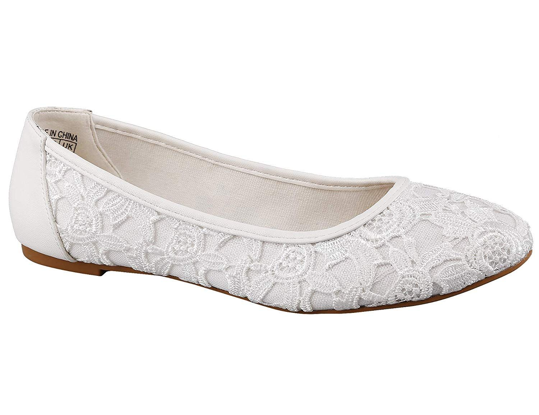a318fce7679e8 Amazon.com | Greatonu Women Shoes Cut Out Slip On Navy Synthetic ...