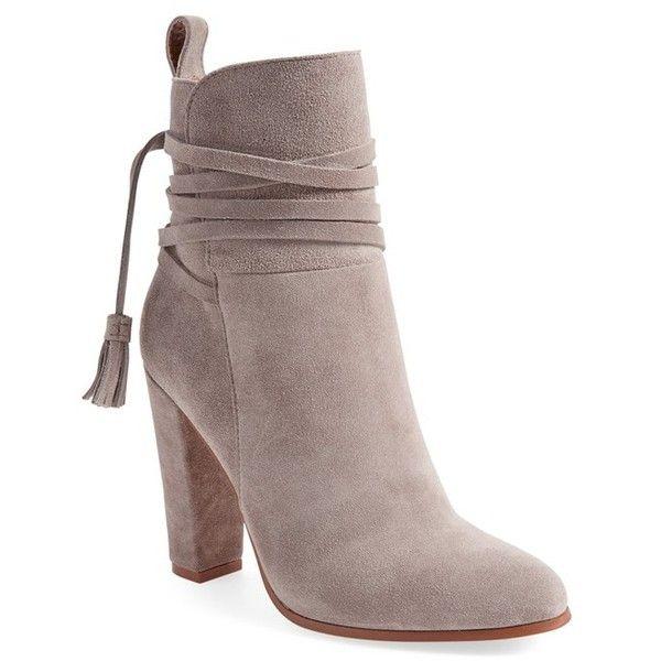 d00eb49a911 Women's Steve Madden 'Glorria' Block Heel Bootie ($100) ❤ liked on ...