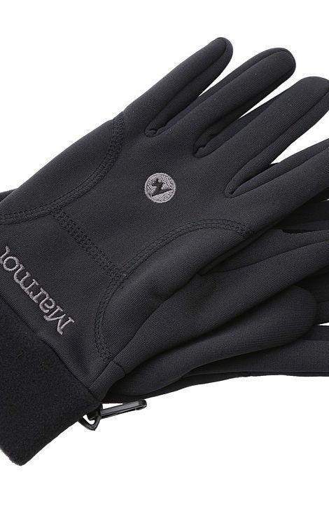 Marmot Power Stretch Glove (Black) Extreme Cold Weather Gloves - Marmot, Power  Stretch