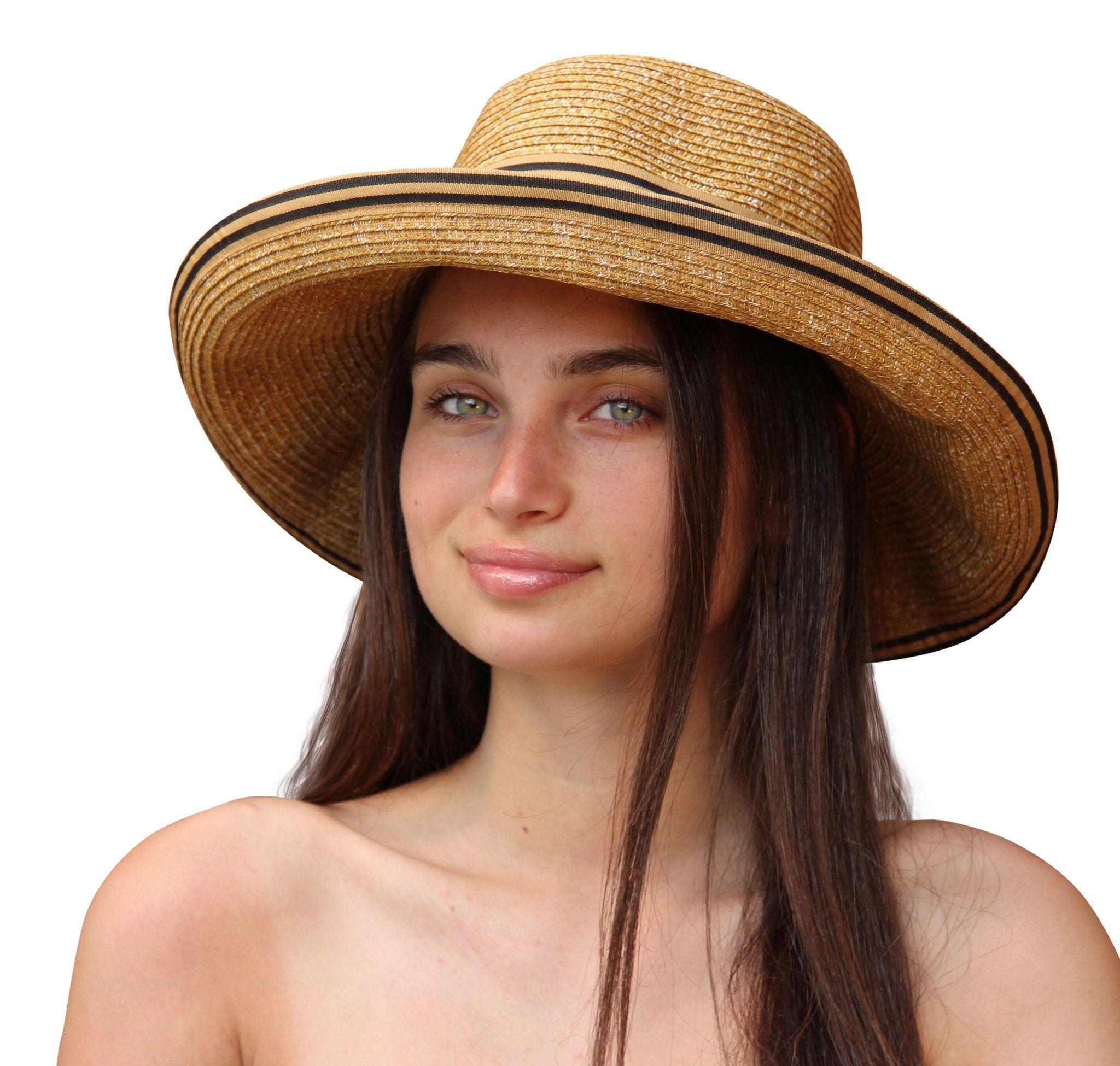 85670718 Palms & Sand Womens Beach Hat Sun Hat with UV Sun Protection UPF 50+ ...