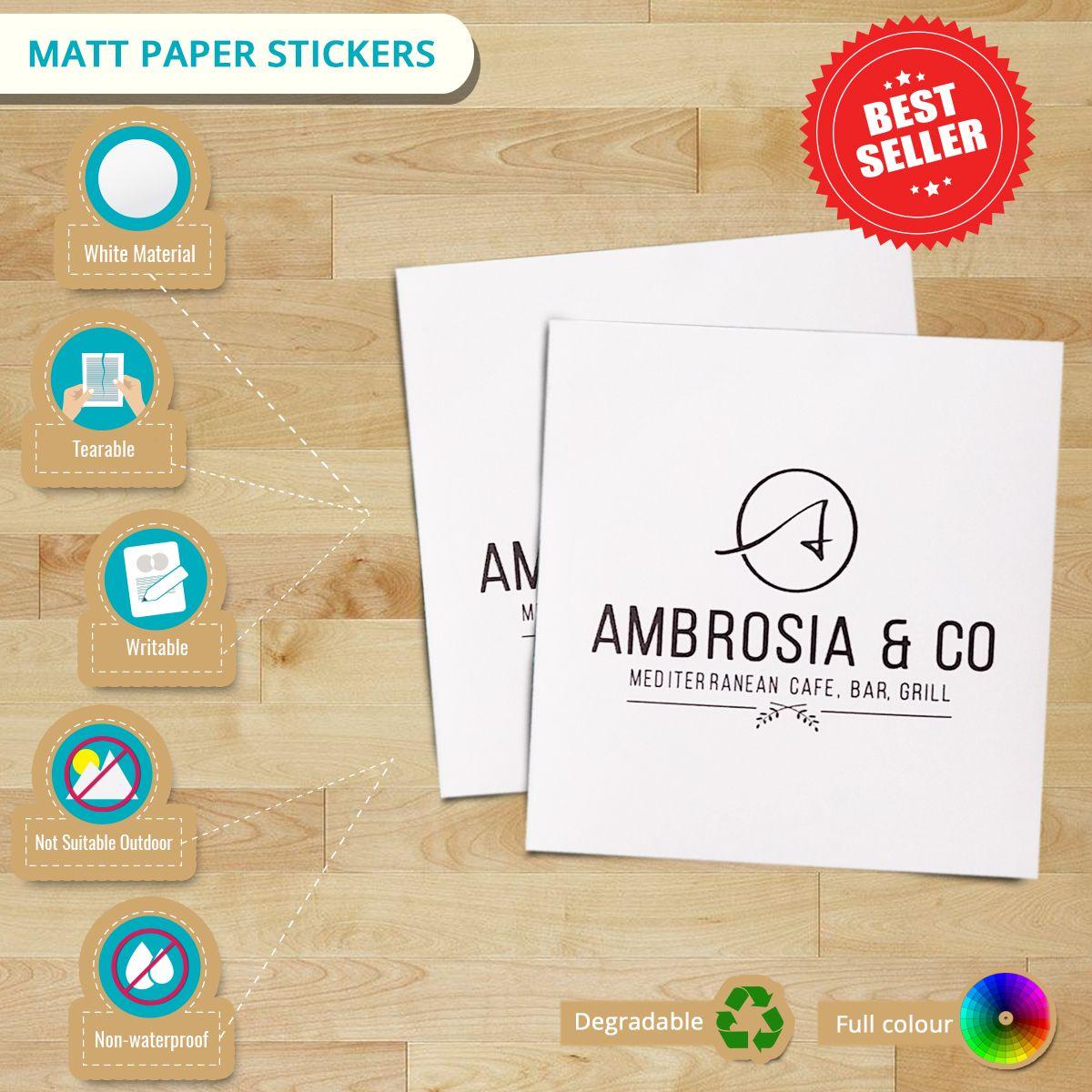 Art Paper Stickers | Infographics | Sticker paper, Stickers